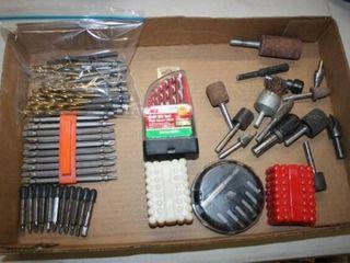 Drill Bits  Various Sets  Grinding Bits