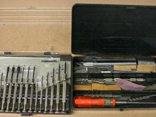 Small Screwdriver Set  Razor Blades
