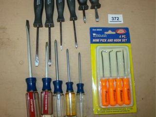 Screwdriver sets  Mini Pick and Hook Set