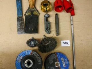 Cutting Discs  Scrapers  Feeler Gauge  Hole Cutter
