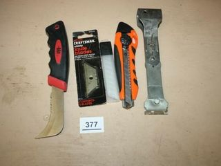 Utility Knives  extra Blades