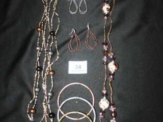 Costume Jewelry  Bangles  Earrings