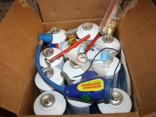Freon and Charge Kit  Pick up only cannot be shipp