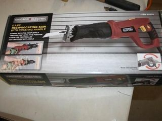 Reciprocating Saw in Box  Extra Blades