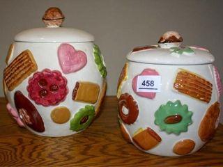 Napcoware Cookie Jars