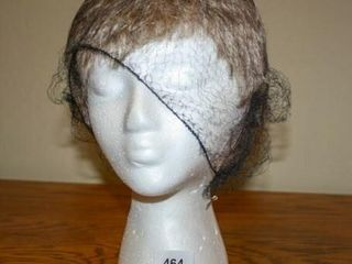 Wig  Short Pixie Cut on Styrofoam Mannequin Head