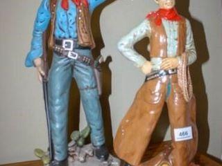 Handpainted Cowboy Figures