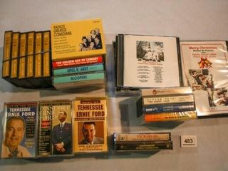 Cassette Tapes  Compact Discs  Chirstmas