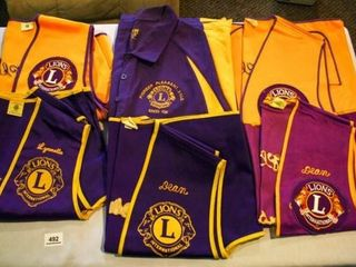 lions Club Vests and Shirts
