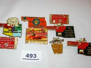 Various lions Club 3 A Pins