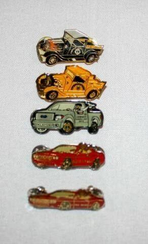 lions Club Car Pins  No Years