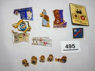 lions Club Oklahoma Pins