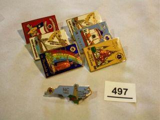 lions International onvention Pins  6  NC Pin