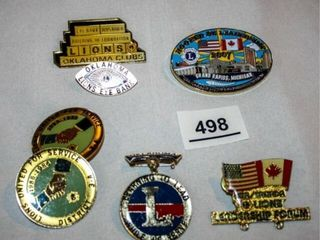 lions Club leasership Pins