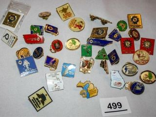 Various Perfect Attendance lions Pins  37
