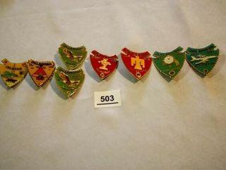 Arrowhead lions Pins
