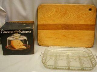 Cutting Board  Cheese Keeper
