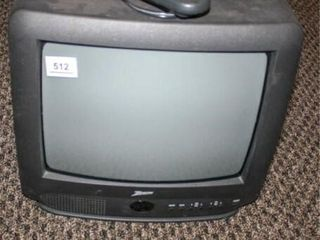 Small Zenith TV with Remote  14