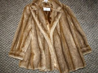 Faux Fur Coat Made in France