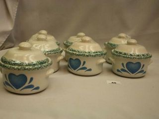 Small soup pots with lids  7