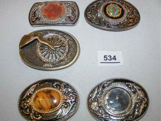 Decorative Belt Buckles 5