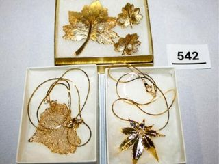 leaf Style Jewelry