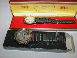 Sports Watch  Electronically Timed Swiss watch