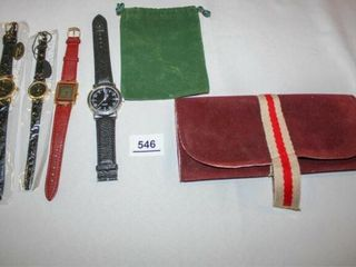 Fashion Watches  Jewelry Travel Pouch