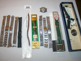 Various Styles of Replacement Watch Bands