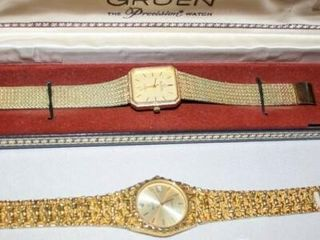 Elgin Watches 2  Gold coloring
