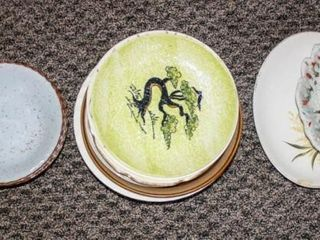 Decorative Plates and kitchen items