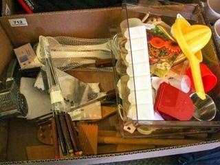 Kitchen items  Plastic utensils