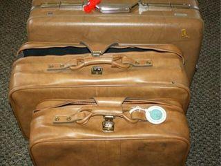 luggage  1 Hard Suitcase 2 soft side suitcases