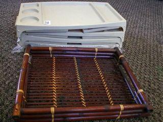 lap Trays  Plastic