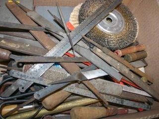Box of Files  Wire Brush Attatchment