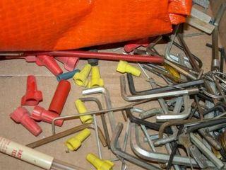 Allen Wrenches  Orange Cover  bits