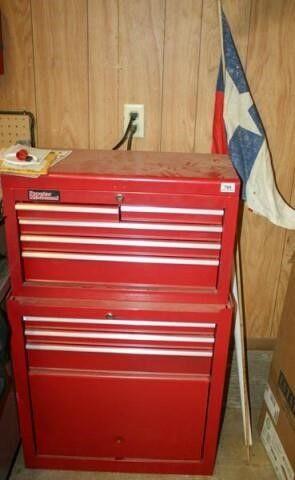 Popular Mechanics Toolbox with Keys