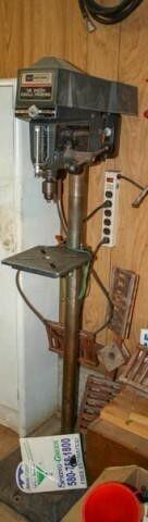 12  Drill Press on stand