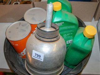 Champlin Oil  Quaker State  Oil Can  Plastic oil