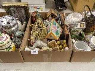 Decor  Planters   3 boxes