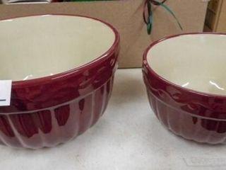Celebrating Home Stoneware Bowls  2