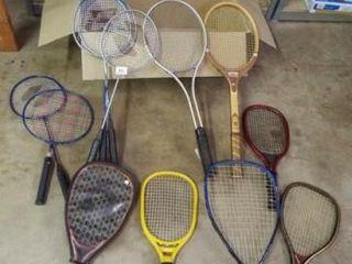 Raquets  Variety    10