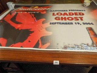 2006 Budweiser loaded Ghost Poster