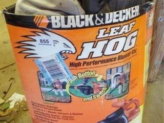 Black Decker leaf Hog Blower in box