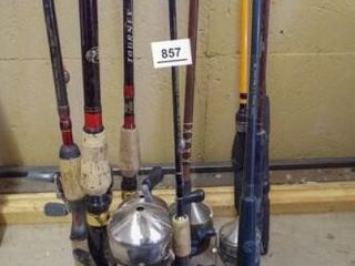 Fishing Poles with Reels  6