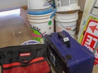 Fishing Tackle  Box  Buckets