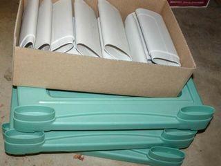 Plastic Shelf  3 levels