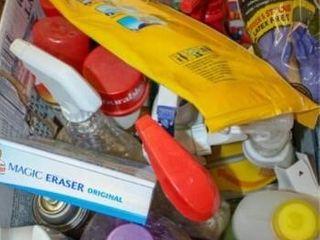 Cleaning Supplies  Mr Clean  liquid Gold etcIJ
