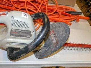 Craftsman 18  Hedge Trimmer  Missing Battery