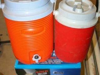 Travel Cooler  Gott   Rubbermaid Water Jugs